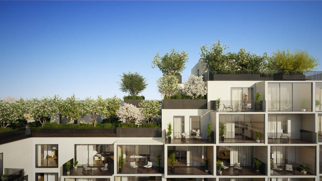 Amazing Residential Building Antwerpen Stefano Boeri Green Flats