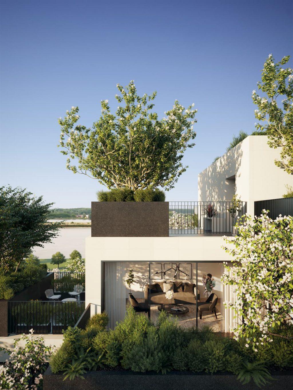 Amazing Residential Building Antwerpen Stefano Boeri Green Terrace