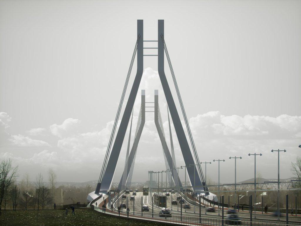 New Budapest Bridge Budapest Unstudio