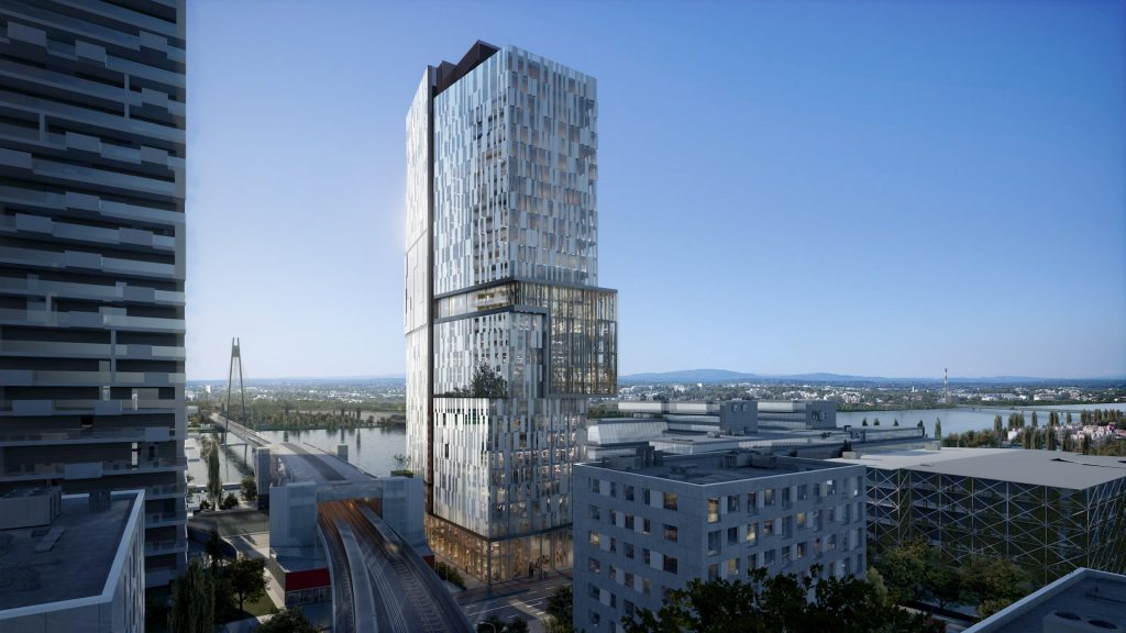 Donaumarina Tower High-Rise Commercial Building Development in Austria