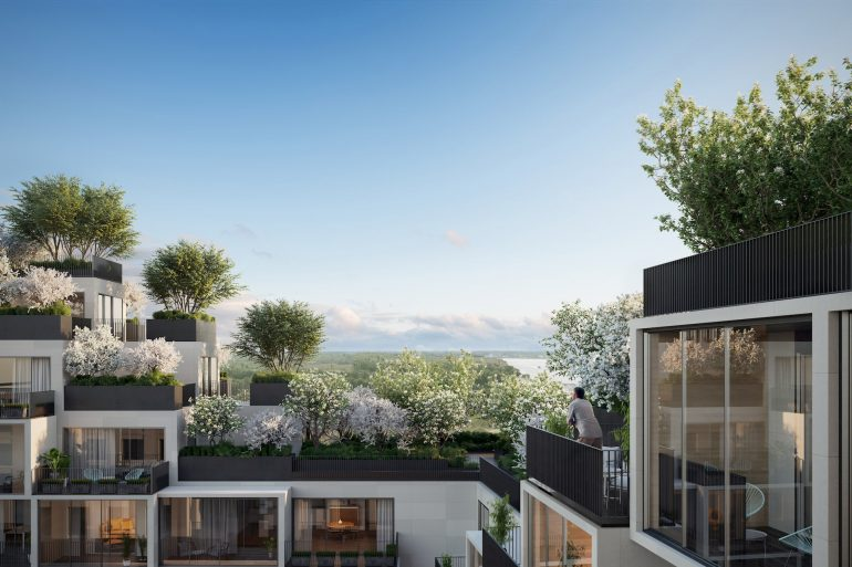 Amazing Residential Building Antwerpen Stefano Boeri Green