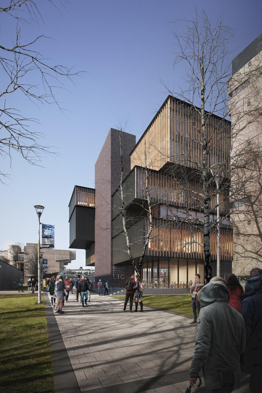 Brunel University in London Daylight