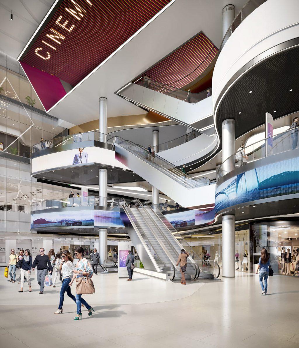 ETELE PLAZA Shopping mall interior