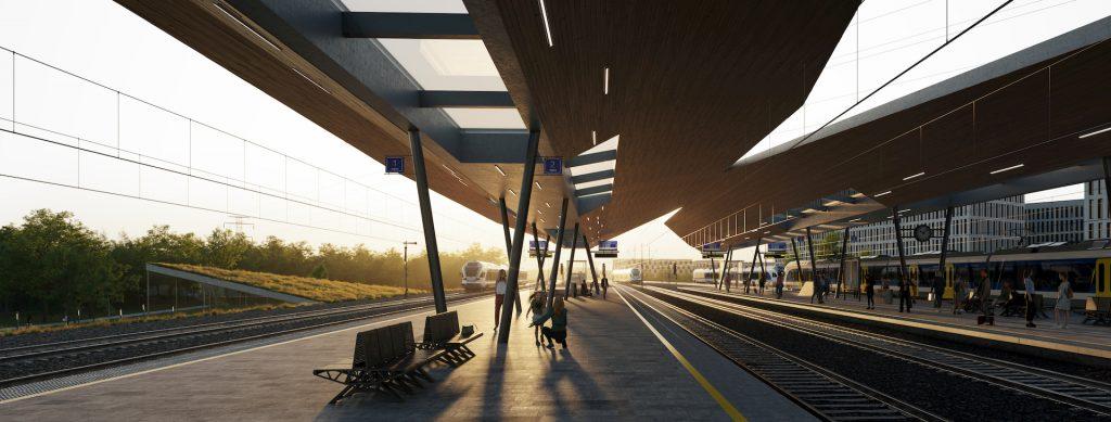 NÉPLIGET Vasútállomás Sporaarchitects Budapest