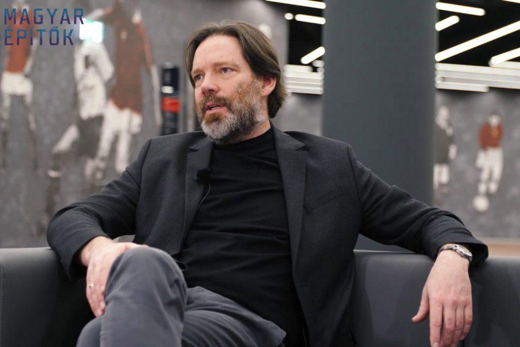 Patrick Lüth, managing director of Snøhetta's Innsbruck