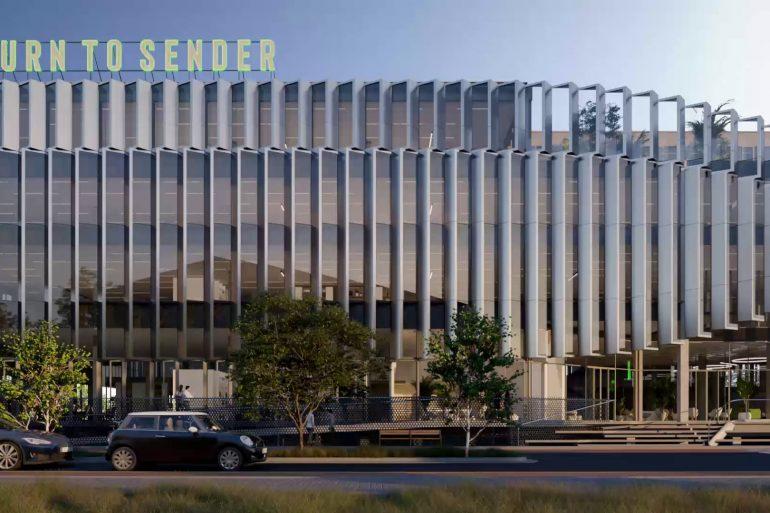 Architectural Animation Berlin Office Development