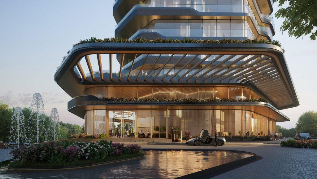 MANDARIN ORIENTAL HOTEL UNStudio Design Entrance
