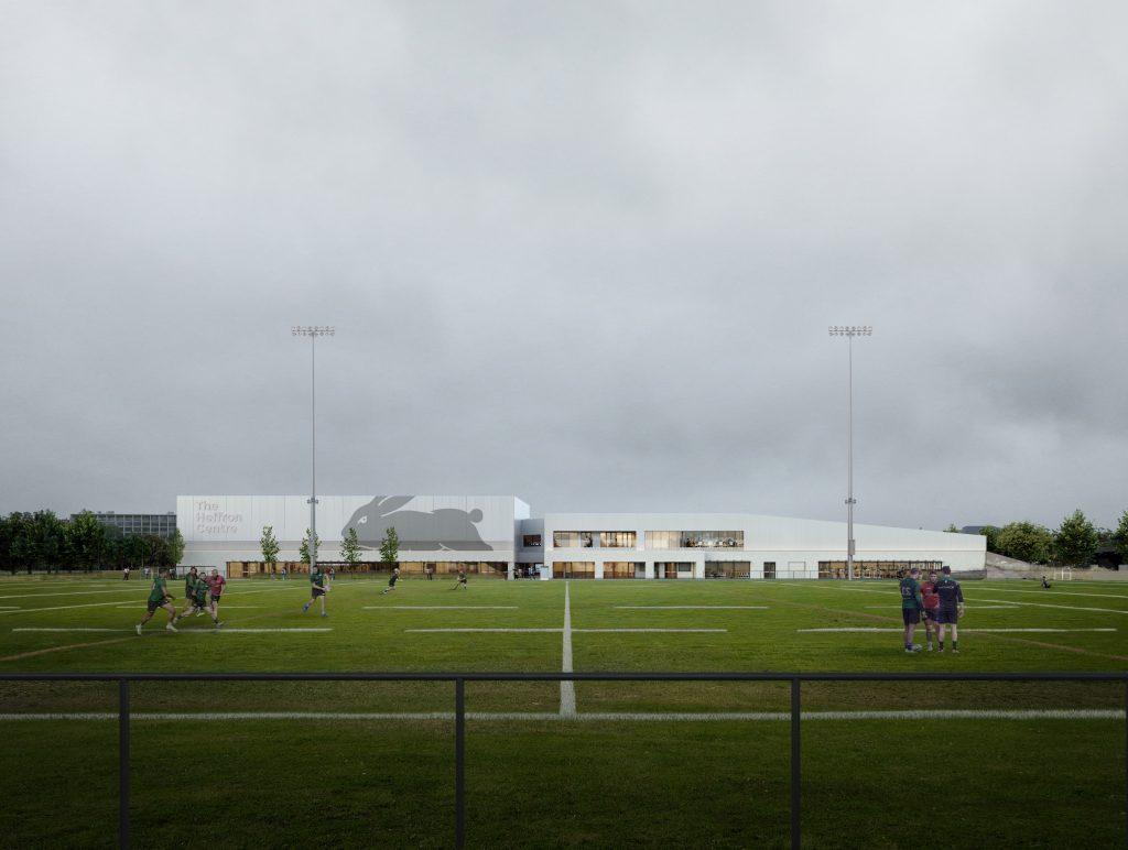 The Heffron Center Stadium Cloudy Training