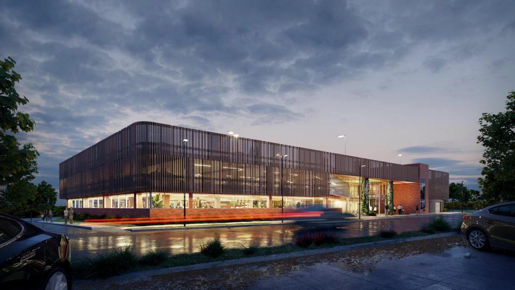 Architectural Renderings made for CO-OP Studio's Design