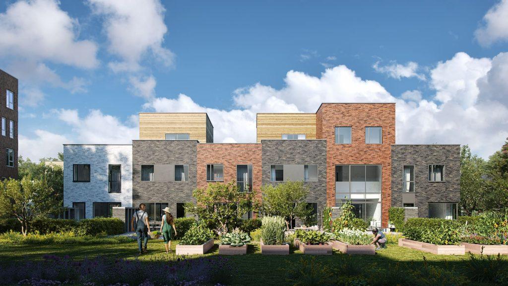 Neo Legia Rives Ardentes Residential Development Liége Belgium sunshine